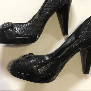 Black Heels - lightly worn
